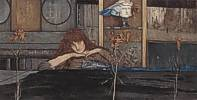 Fernand Khnopff (1858 - 1921) I lock my door upon myself, 1891