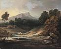 Thomas Gainsborough (1727 - 1788) Landschaft mit Hirt und Herde 1784