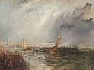 Joseph Mallord William Turner (1775 - 1851) Ostende, 1844